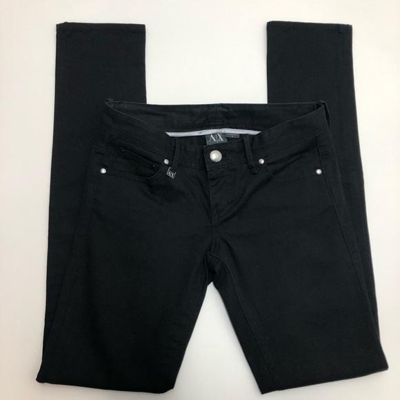 Armani Exchange Denim - A/X Armani Exchange Black Skinny Jeans Size 0